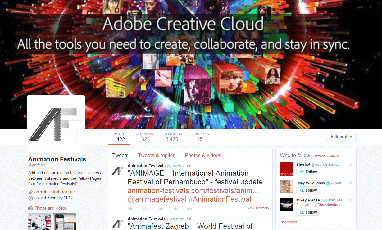 Twitter Cover Image Example